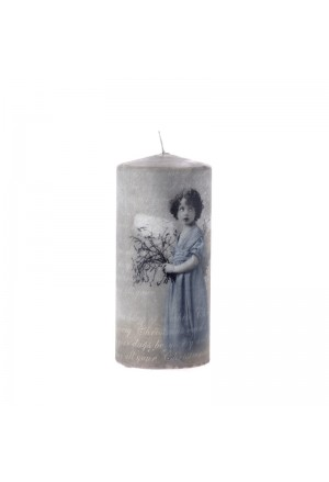 Vintage Κερί Κυρία 8χ18