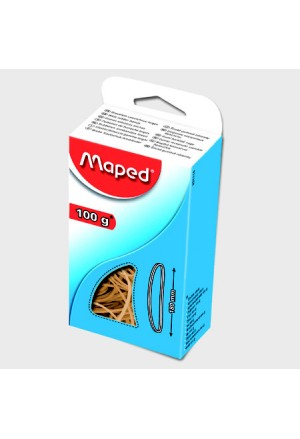 RUBBER MAPED IN BOX 100gr . 120MM