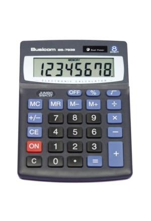 CALCULATOR VUSICOM 135CH103 8DIG ECO ROWER