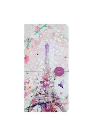 CHACHA 2 Notebook with ribbon 9Χ18