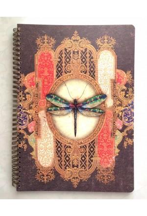 ECOLE Notebook Spiral A4