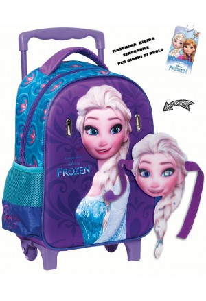 BAG JUNIOR ELSA FROZEN TROLLEY