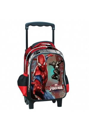 BAG JUNIOR SPIDERMAN TROLLEY