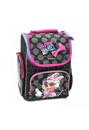 BACKPACK STARPAK MINNIE 3 ZIP