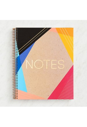 Blush Marble Spiral Notebook Α4