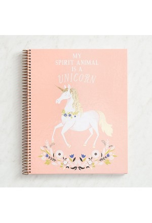 Blush Marble Spiral Notebook Α4