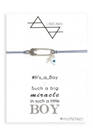 IT'S A BOY ΠΑΡΑΜΑΝΑ Bracelet