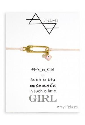 IT'S A GIRL ΠΑΡΑΜΑΝΑ Bracelet