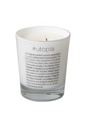 Scented candle #utopia