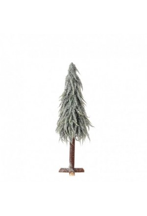 TREE SNOWY 60CM WOODEN