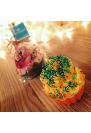 Scented soaps Glycerin orange CupCakes