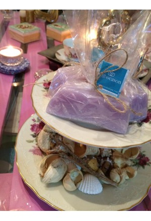 Glycerin Soap with Shea Butter and Lilly