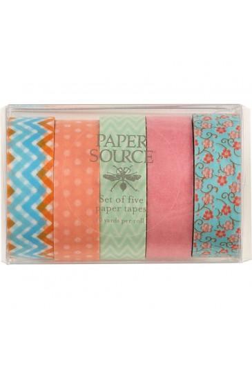 Pastel Washi Tape Set of 5