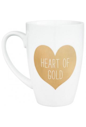Heart of Gold Mug