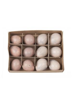 Αυγά ορτυκιού ροζ μιξ (Σετ/12)