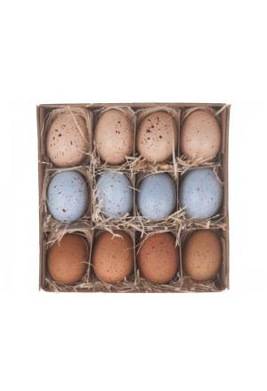 Αυγά χήνας κίτρινο μιξ (Σετ/12)