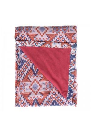 DOUBLE SIDE BEACH TOWEL W/ PRINTS