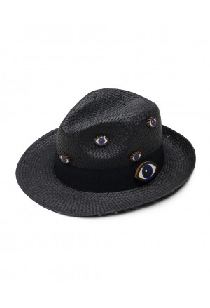 EYE LOOK (GREY) HAT