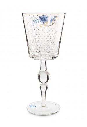 Ποτήρι Κρασιού Royal Golden Dots