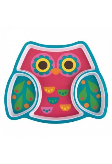Melamine Tray Owl Stephen Joseph