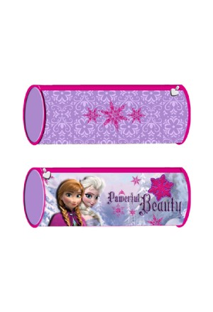 ROUND PENCIL CASE FROZEN