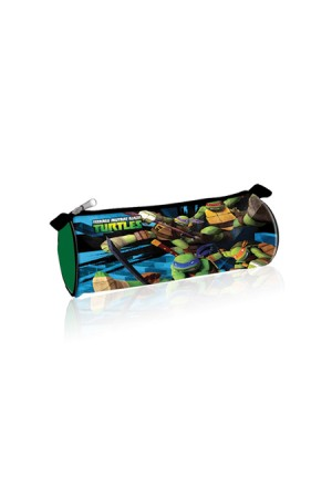 ROUND PENCIL CASE TURTLES