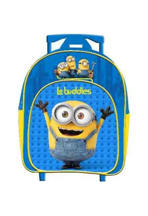 BAG JUNIOR MINIONS TROLLEY