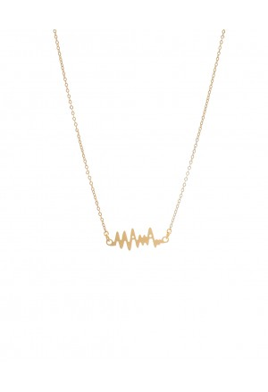 ΜΑΜΑ Καρδιογράφημα Necklace