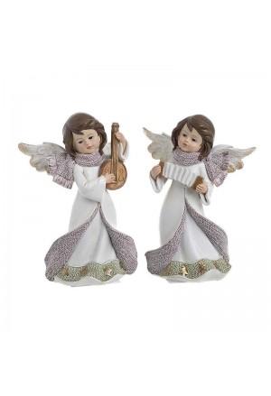 Άγγελος Χριστουγεννιατικος Σετ 2 Τεμαχιων