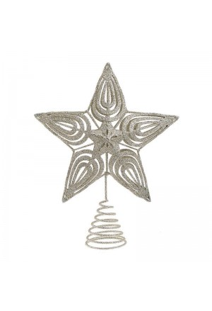 Silver tree star
