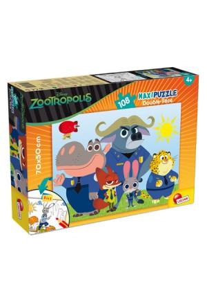 Παζλ Disney ZOOTROPOLIS διπλής όψεως MAXI 108 κομμ 53506