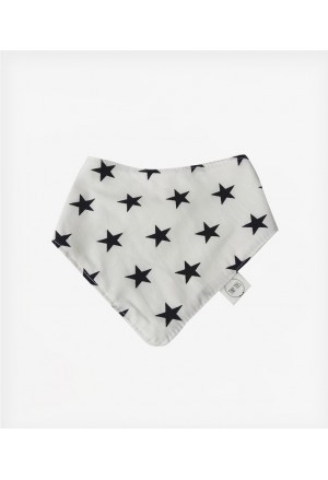 BANDANA BIB STAR BLACK