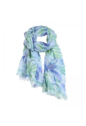 SCARF/PAREO IN BLUE/GREEN COLOR