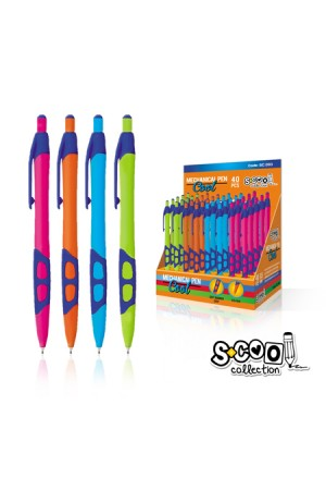 MECHANICAL PENCILS SCOOL SOFT GRIP 05mm