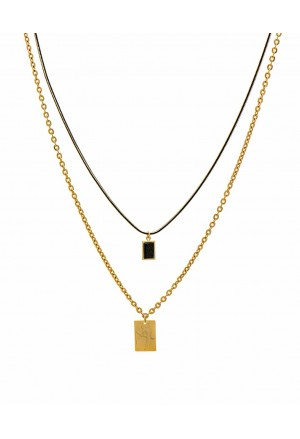 Africa parallel Necklace
