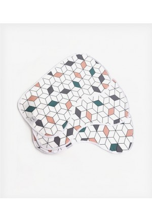 Bib geometric cube