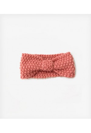 Κορδέλα Μαλλιών Πλεκτή Dusty Pink