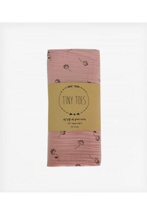 MUSLIN Blossom Dusty Pink 65Χ65