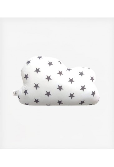 Decorative Pillow Gray Stars