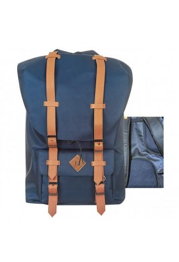SCHOOL BAG BLUE 43x28x15cm