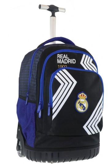 TROLLEY SCHOOL BAG REAL MADRID 31x20x47cm