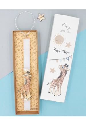 Easter Candle Giraffe