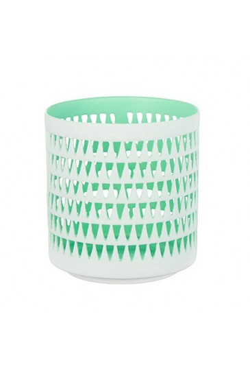 Candle hoiders white/Mint