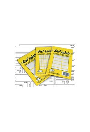 Self-adhesive Labels 40 Sheets