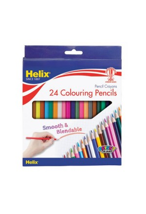 PENCIL CRAYONS HELIX 24 COLOURS