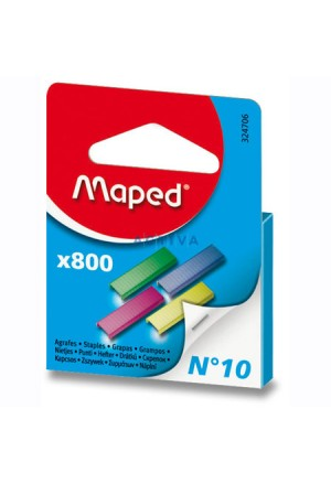 STAPLES MAPED COLOR No10