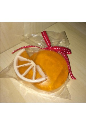 Glycerin soap with shea butter & Orange scent