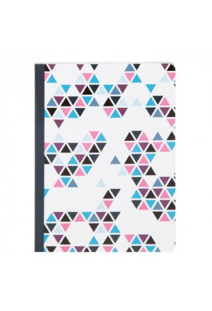 PRISME striped Notebook A5