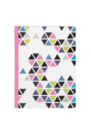PRISME striped Notebook A4