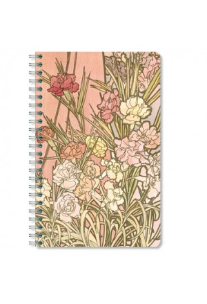 MUCHA 3 Notepad striped 11χ17cm